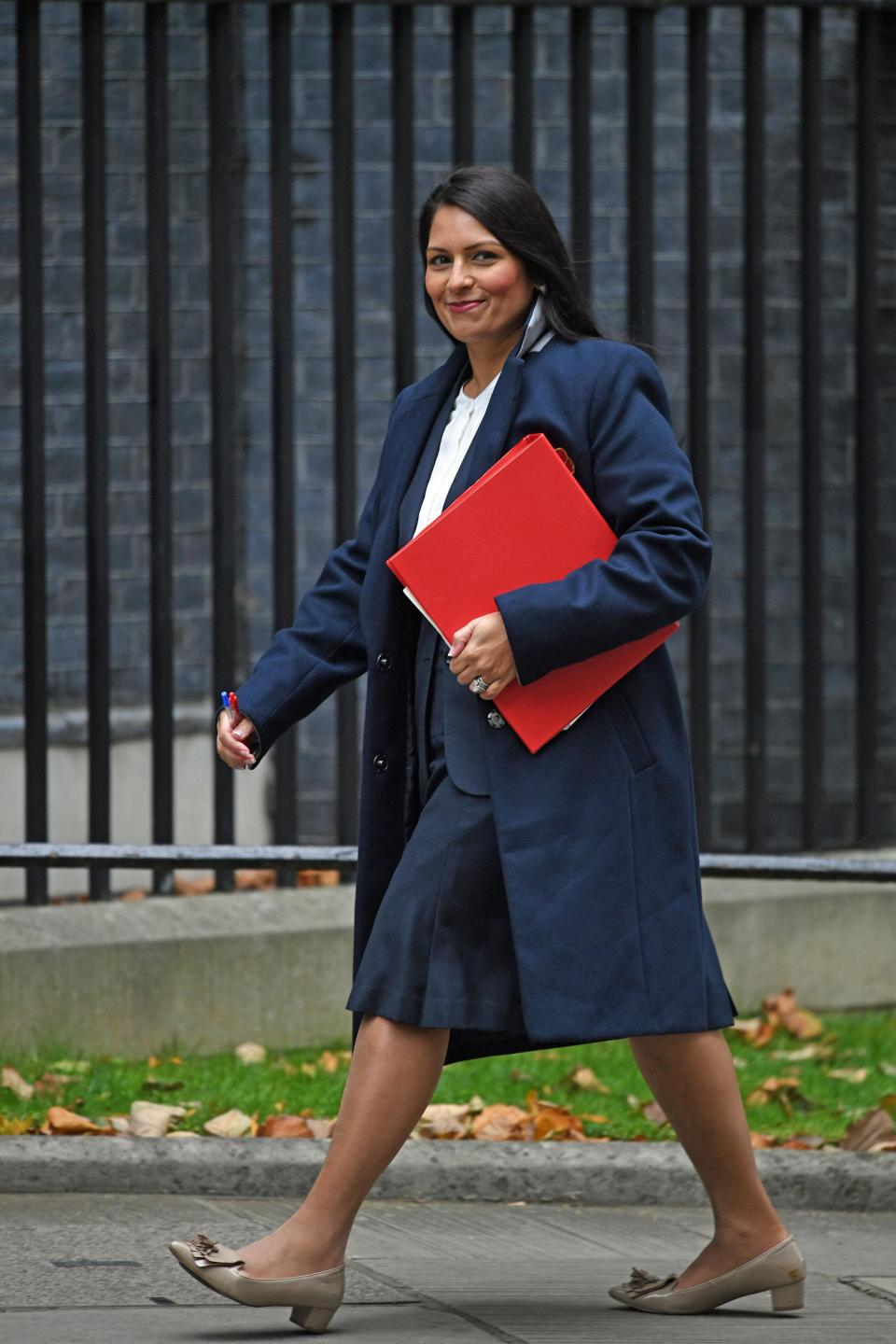 Rivals have accused Priti Patel of trying to build clandestine support for a Tory leadership bid