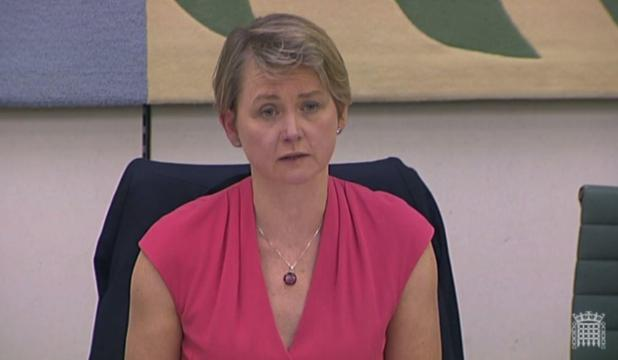 She was pressed by Home Affairs Committee chair Yvette Cooper but she refused to say if the claims were true of false