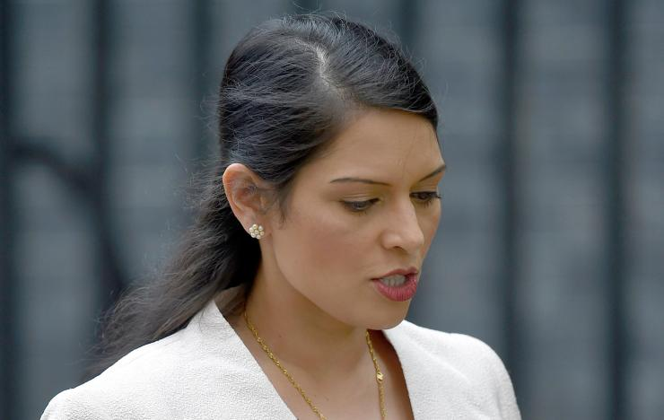 Ms Patel stepped down after it emerged she met with senior Israeli government figures without telling Number 10