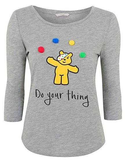 Asda also have some fun tops for adults as part of their Children In Need collection