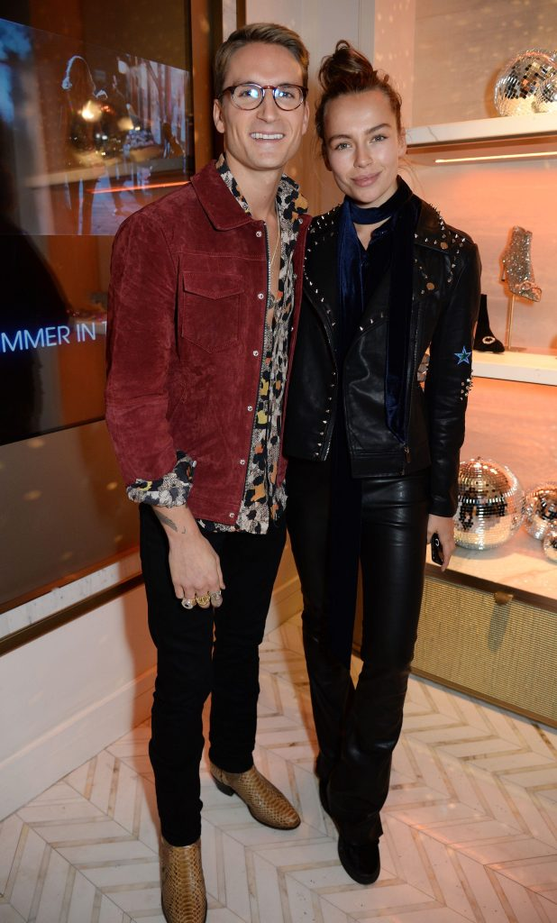 Made In Chelsea stars Oliver Proudlock and Emma Connolly were all smiles at the bash