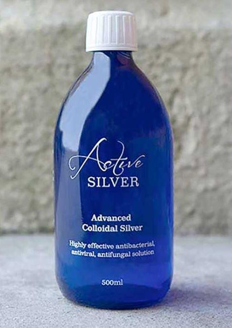 Active Silver contains tiny particles of colloidal silver and claims to be a natural way to boost your immune system