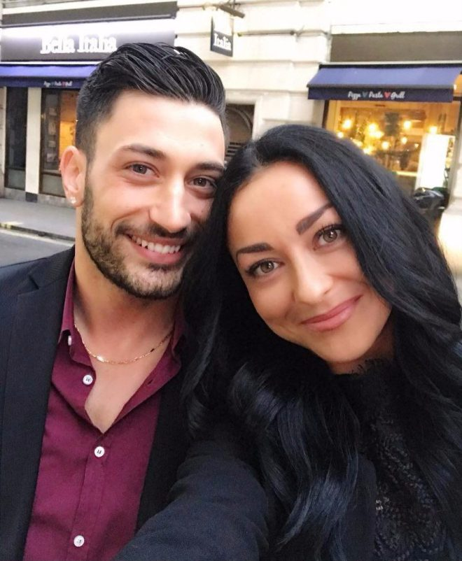 Luba dated fellow Strictly star Giovanni
