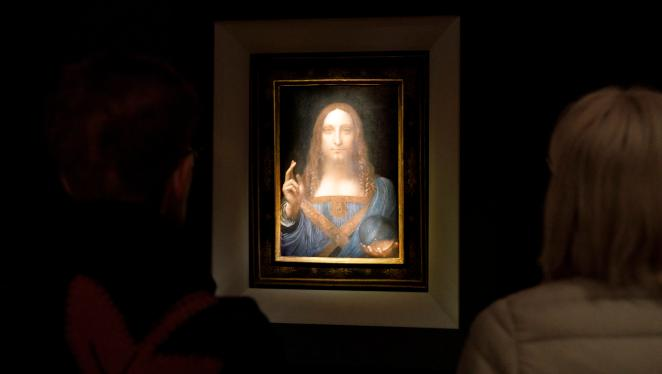 Yet even now some art critics are convinced it was not painted by polymath Da Vinci