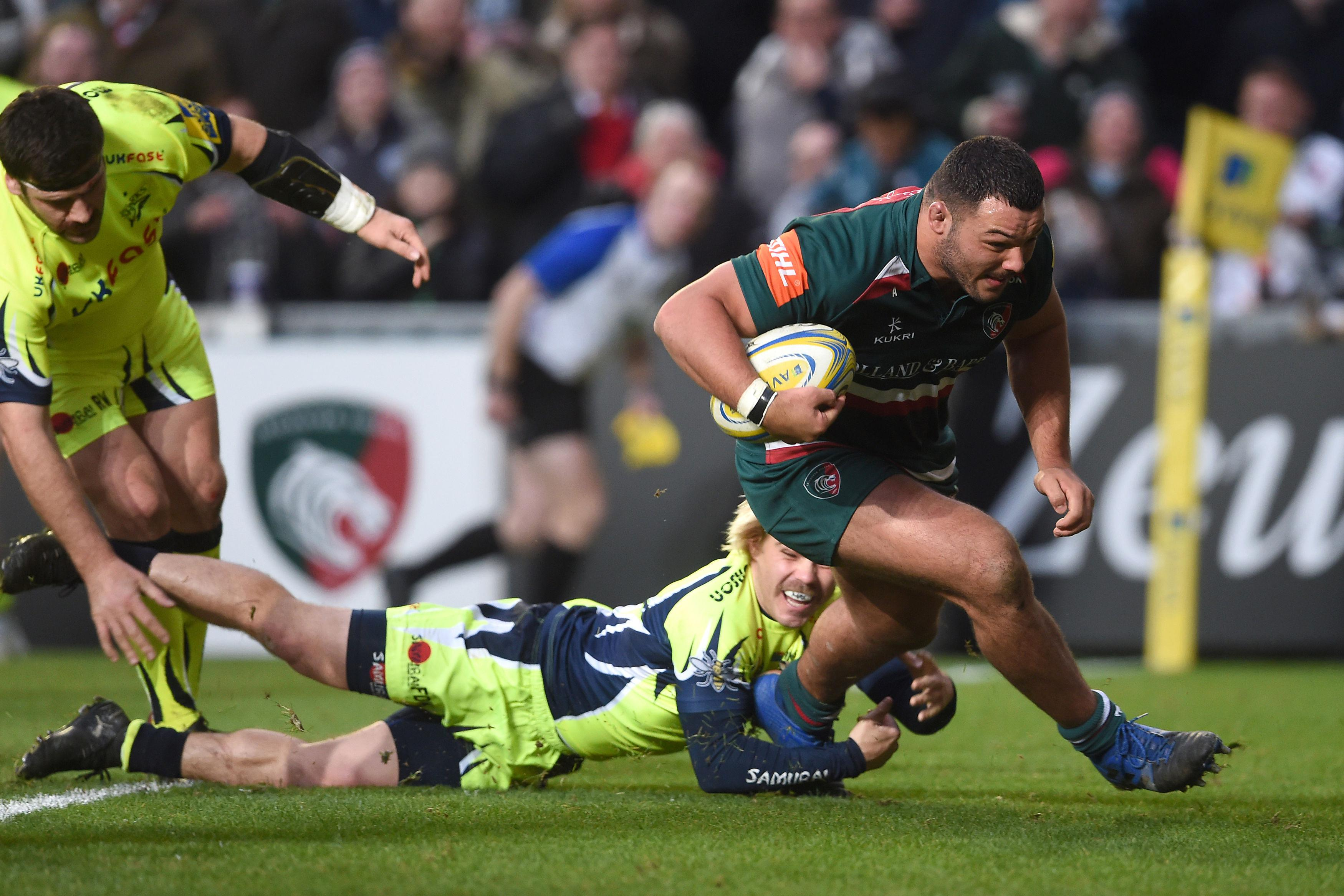 Leicester star Ellis Genge has a tough task to keep his place in the England side