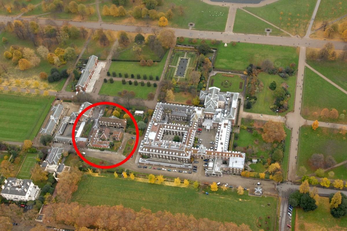 Where do Meghan Markle and Prince Harry live and wheres Kensington Palaces Nottingham Cottage