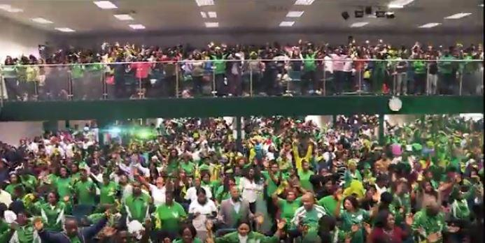 The church packs in around 5,000 worshippers a week