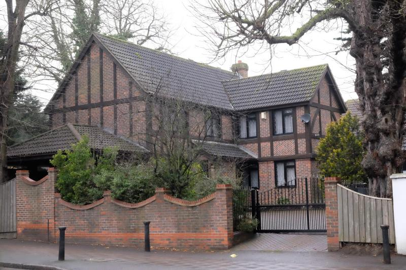 He lives rent-free in a £1.1m mansion owned by the church