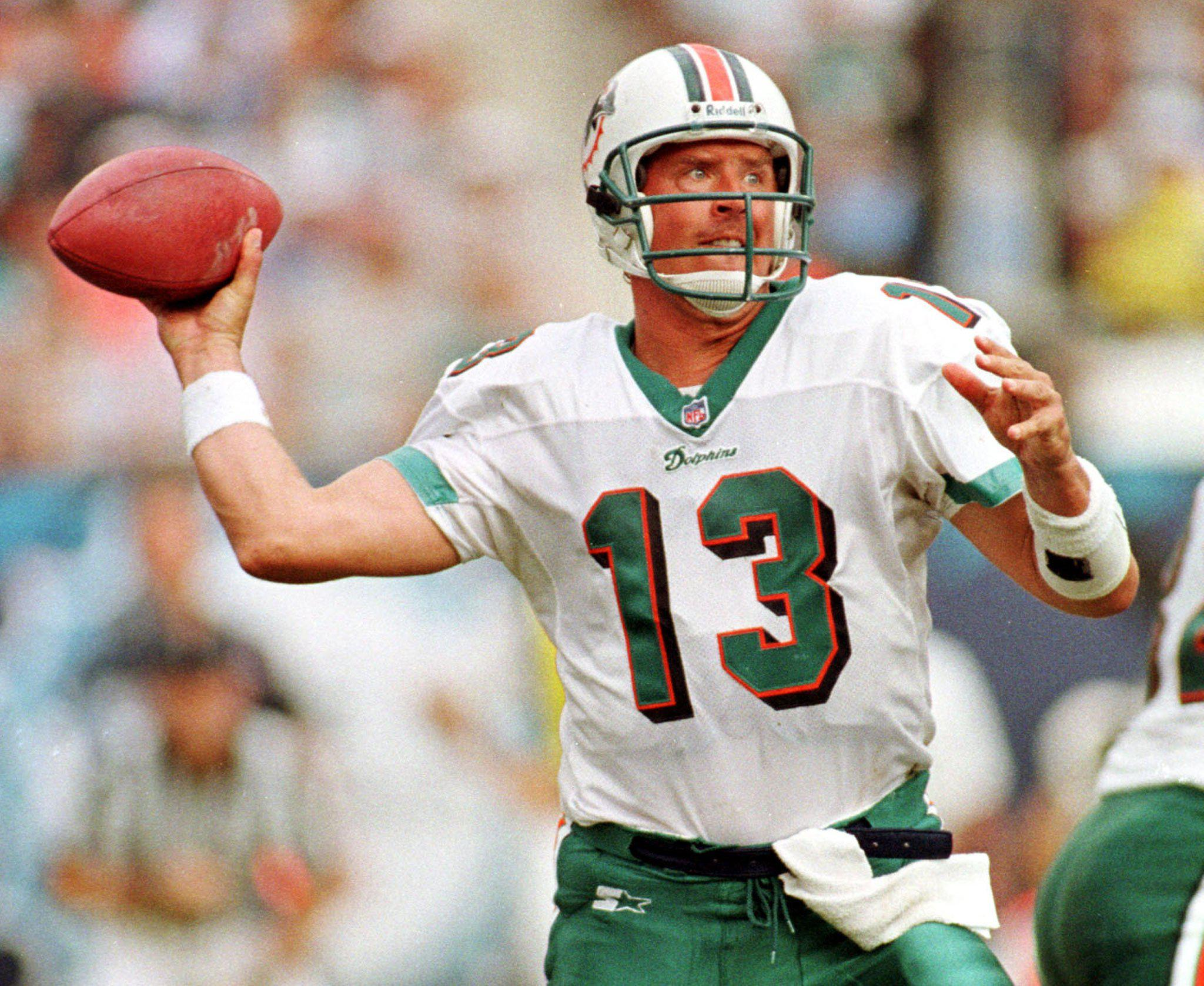 Dan Marino never won the Super Bowl but elevated his Miami team into play-off contention almost every year