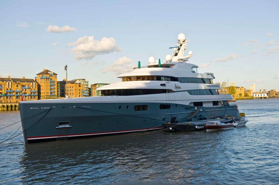 Joe Lewis owns the Aviva III which is worth £112m