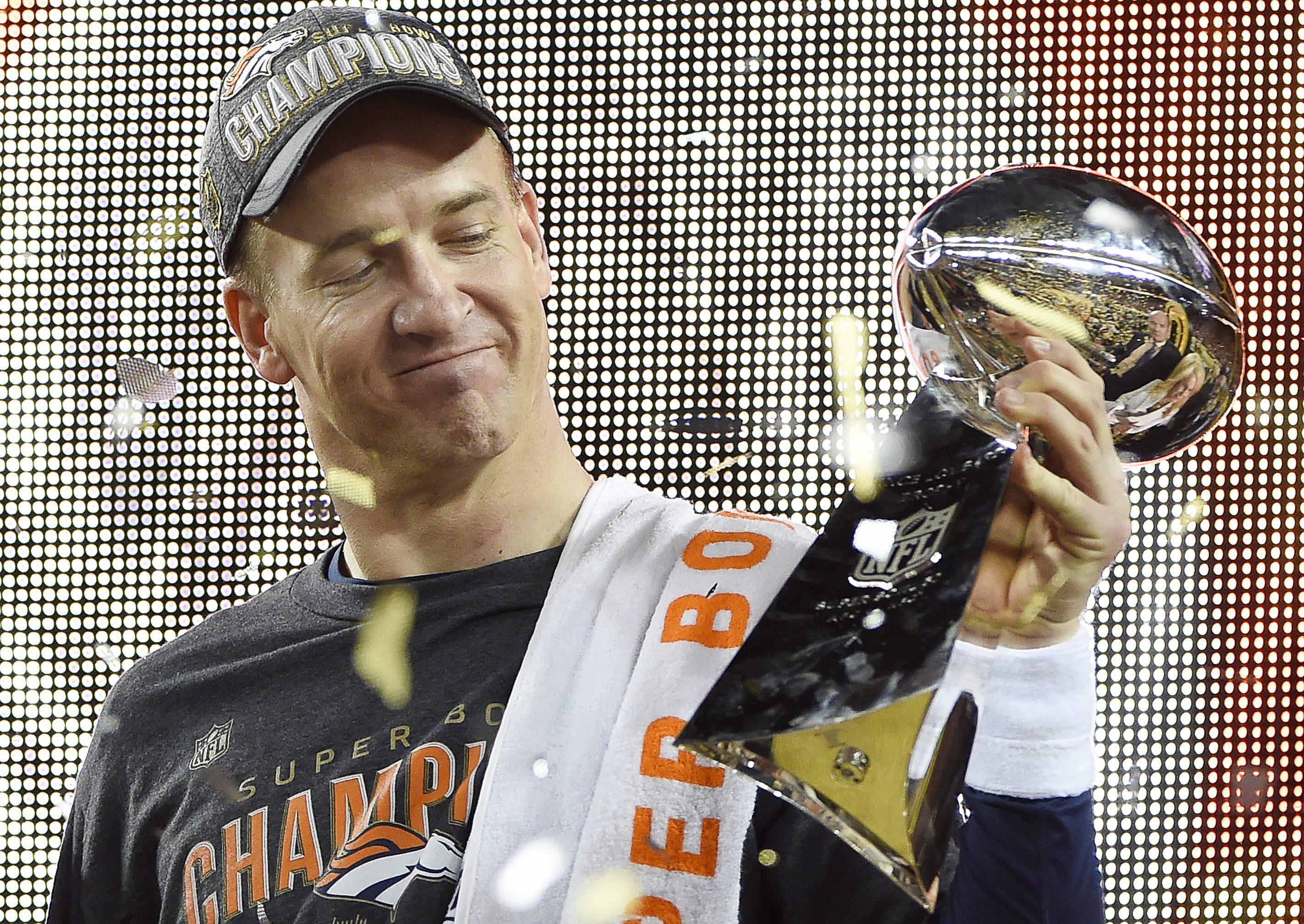 Peyton Manning finally won an elusive second title with Denver before retiring