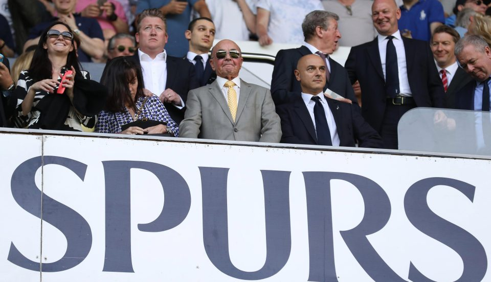 Spurs owner Joe Lewis has an estimated worth of £4bn