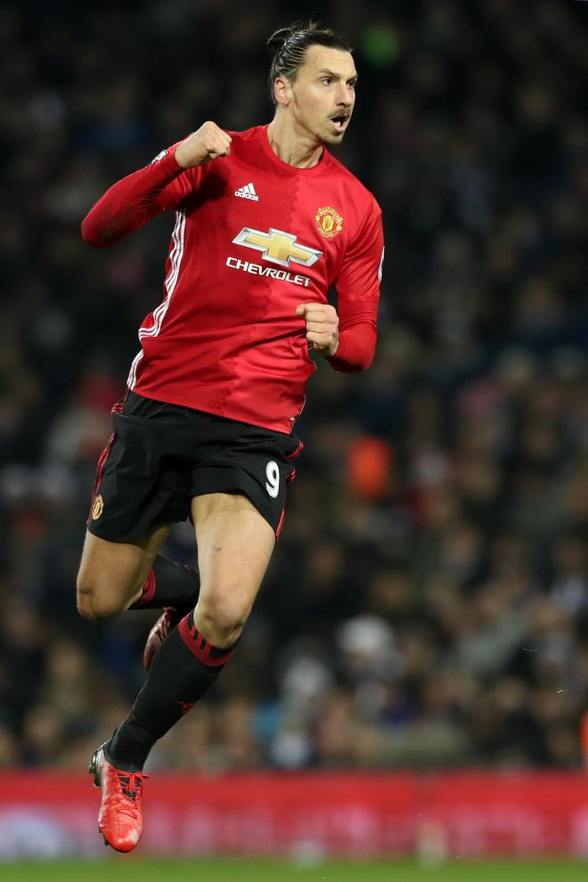 The Swede has been doing a lot of celebrating since joining United