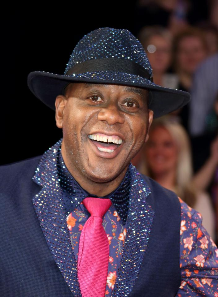 Ainsley says that the show Ready Steady Cook is better than current competition cooking shows