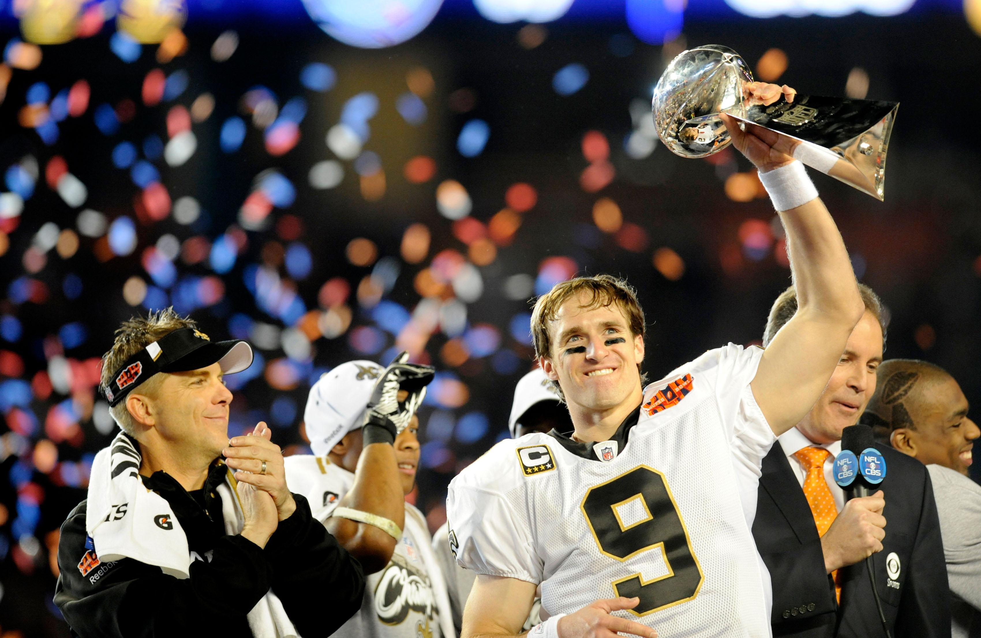 Brees only has one Super Bowl win, but is near the top of almost every all-time stat