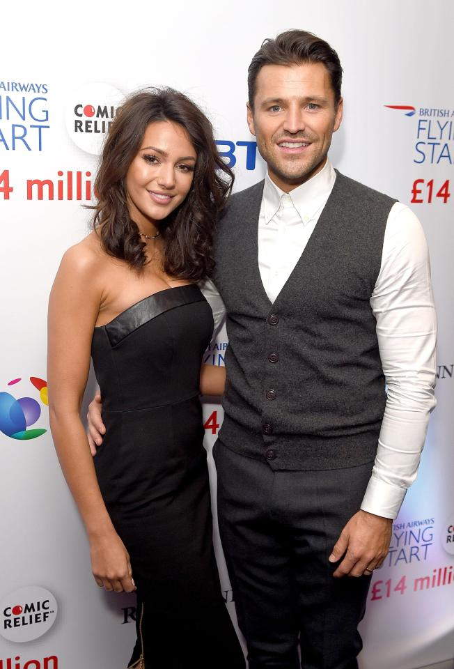 Michelle will be looking forward to being reunited with husband Mark Wright
