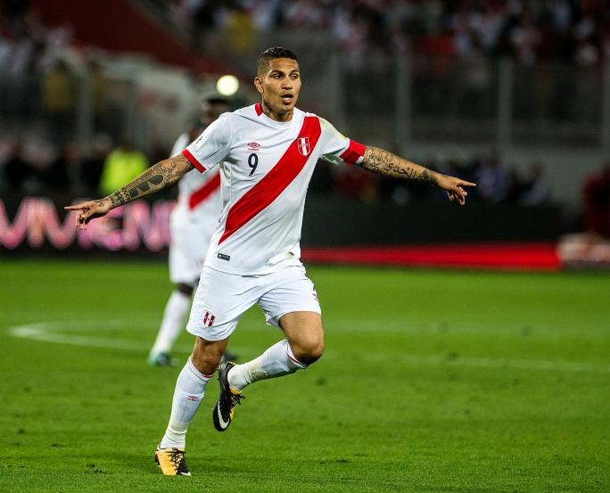 Image result for Peru's Paolo Guerrero to miss World Cup after testing positive for cocaine