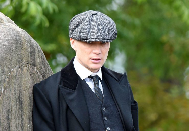Cillian Murphy plays Thomas Shelby in Peaky Blinders
