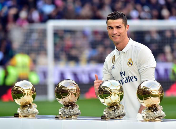 The Real Madrid star is expected to win a fifth Ballon d'Or
