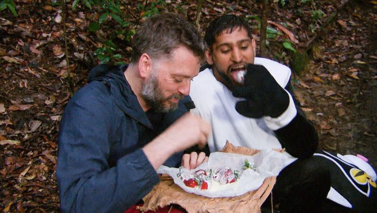 Amir enjoyed strawberries in the jungle but he's more of a melon himself