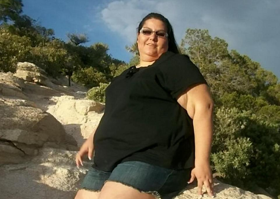 Olga weighed a massive 28 stone at her heaviest