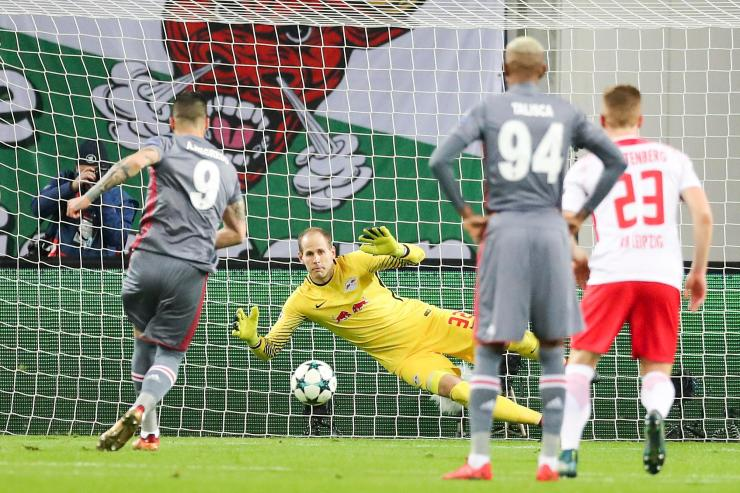 Alvaro Negredo scores from the spot for Besiktas