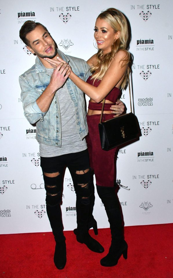 The pair messed around as they attended the Pia Mia x In The Style collaboration launch party