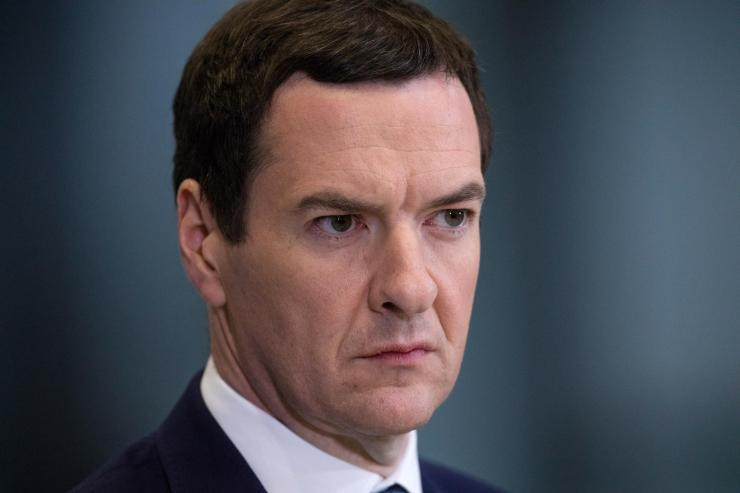 Most Tories want to ditch Theresa May as leader claims George Osborne