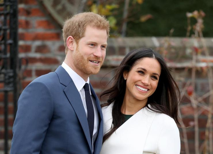 The happy couple will be celebrating together at the Queens pre-Christmas dinner party