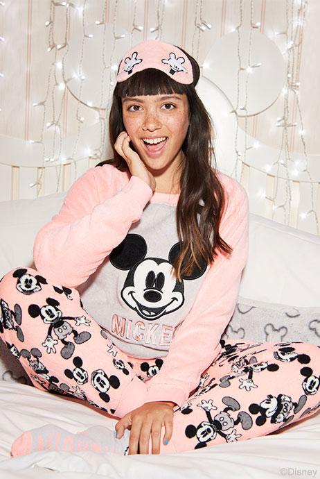 Perfect for Christmas, the £13 boxed PJ sets come with an eye mask and bed socks