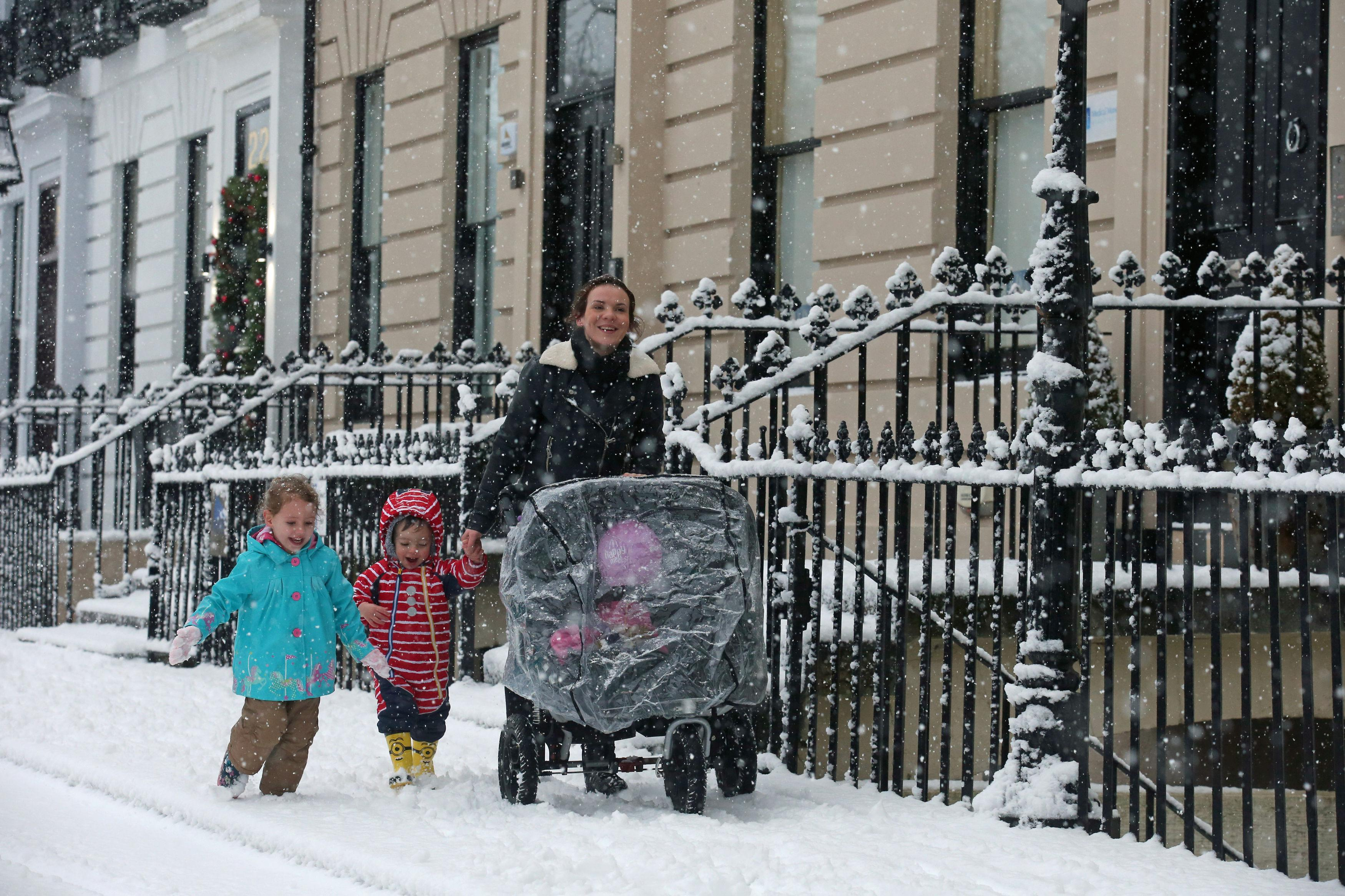 Those in receipt of benefits, especially with children under five, can be eligible for cold weather payments