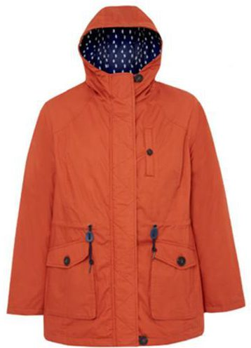 Asda'a orange parka is justlike Liam's but a fraction of the price