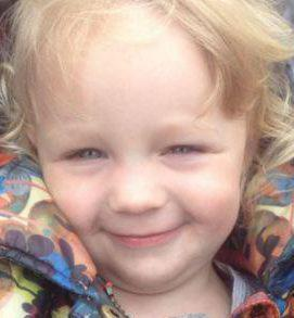 Lia Pearson, aged just three years old, has died in the hospital.