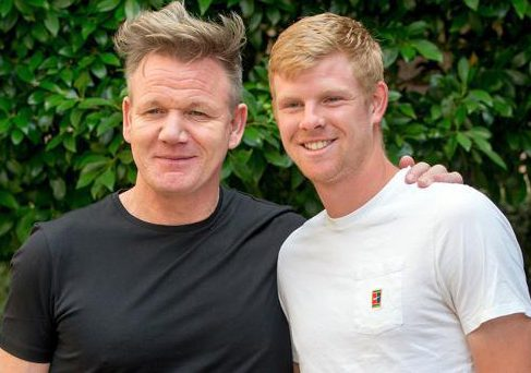 Kyle Edmund has been promised a slap-up meal from chef Gordon Ramsay if he reaches the final