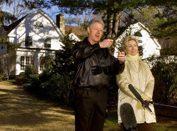 Image result for Firefighters Respond to Fire at Bill and Hillary Clinton's House in Chappaqua, NY