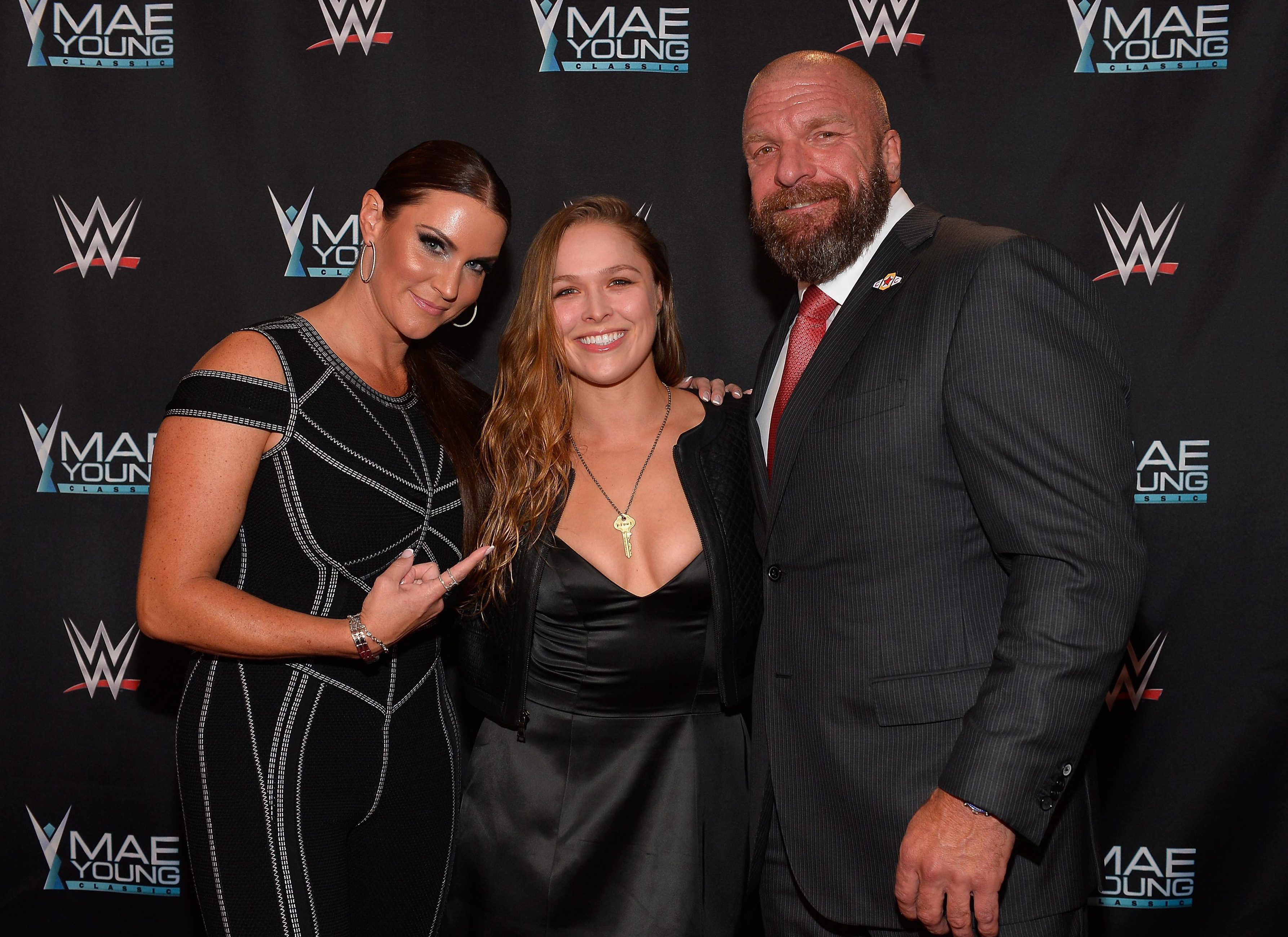 Stephanie McMahon and Triple H have been in talks with Ronda Rousey for several months