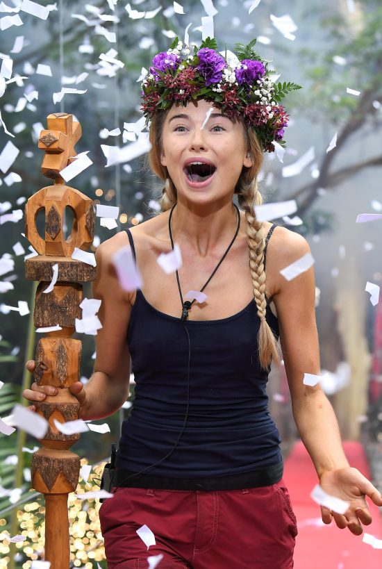 Toff was crowned Im A Celeb 2017 Queen of the Jungle