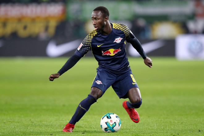 Naby Keita is back on loan at RB Leipzig currently