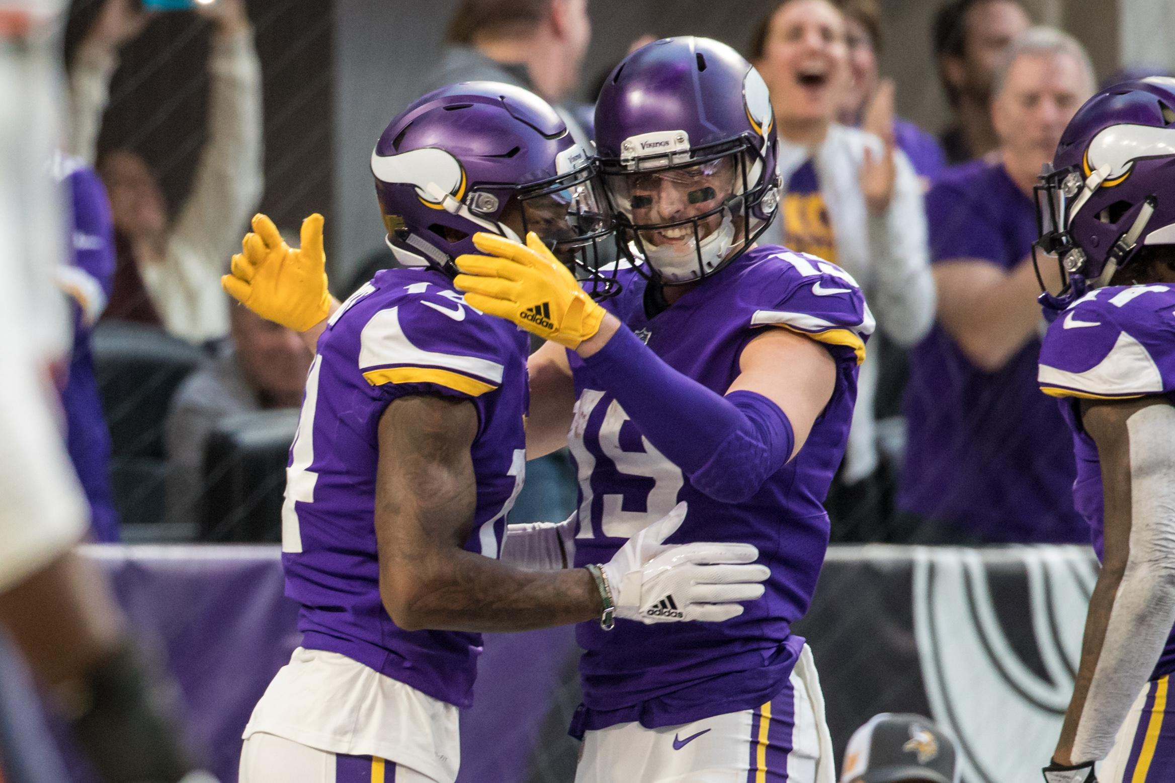 Stefon Diggs and Adam Thielen have been one of the best receiving duos in the league