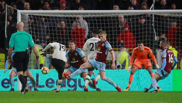 nintchdbpict000375689619 - Burnley 1 Liverpool 2 match highlights: Ragnar Klavan saves Jurgen Klopp's bacon with last-gasp winner for rotated Reds