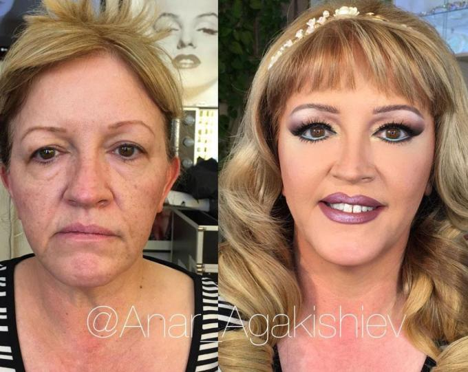 make-up artist shows incredible before and after pics as he