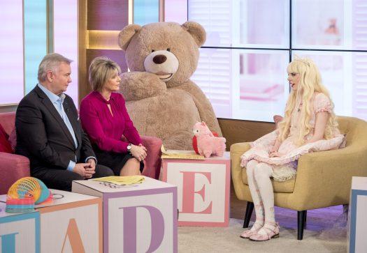 Jade habló con Eamonn y Ruth acerca de cómo lidia con la fibromialgia