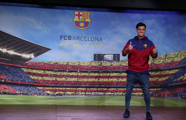 nintchdbpict000376697333 - Barcelona to officially present Philippe Coutinho to the media at Nou Camp on Monday