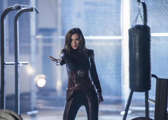 She has been starring as Saturn Girl in the US TV series Supergirl
