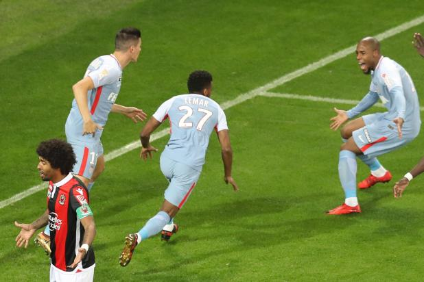 nintchdbpict000377202943 - Nice 1 Monaco 2: Arsenal and Liverpool target Thomas Lemar drives up price with opening goal in French League Cup