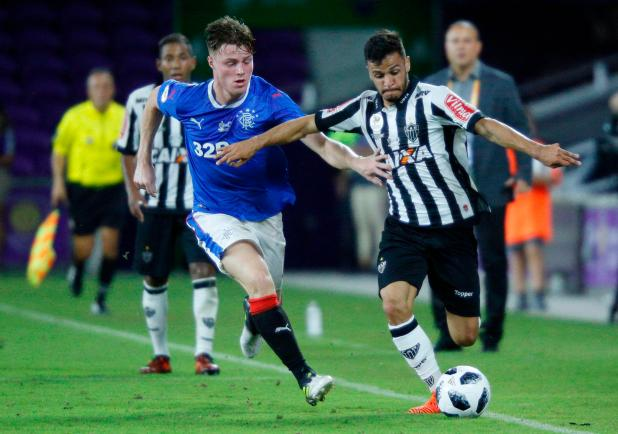 nintchdbpict000377613522 - Rangers 1 Atletico Mineiro zero: Josh Windass' strike gives Graeme Murty and his side a comfortable victory in Florida Cup