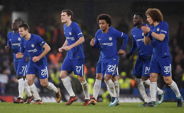 nintchdbpict000378882656 e1516229767863 - Chelsea 1 Norwich 1 (Five-Three pens) match highlights: Willy Caballero the hero as nine-man Blues survive dramatic shootout