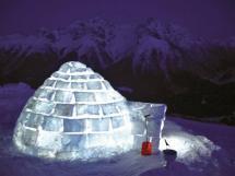 Igloo-village Zermatt In Switzerland Built