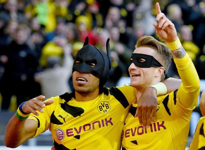 Batshuayi has already signalled his intentions to replace Aubameyang as Dortmund's new Batman