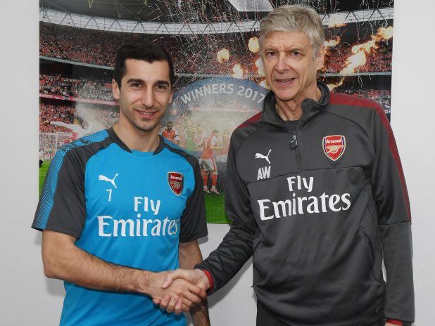 nintchdbpict000380228220 e1516716841447 - Henrikh Mkhitaryan trains with Arsenal for the first time since move from Manchester United